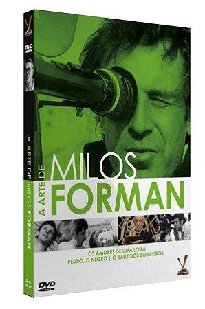 Box DVD A Arte de Milos Forman - 2 Discos - Versátil
