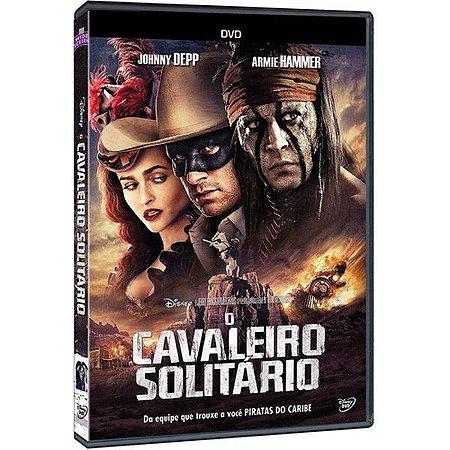 DVD O Cavaleiro Solitário - Johnny Depp