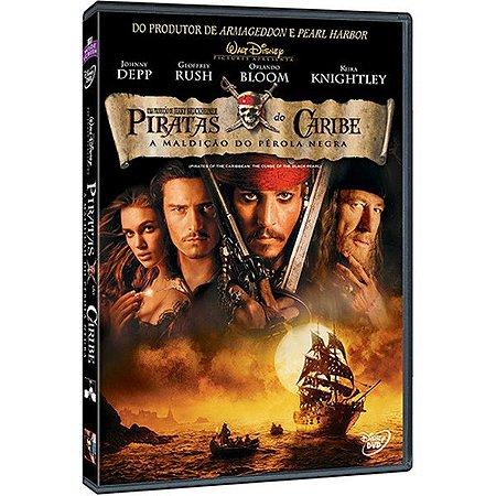DVD Piratas do Caribe 1: A Maldição do Pérola Negra