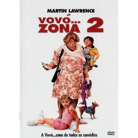 DVD Vovó...Zona 2 - Martin Lawrence