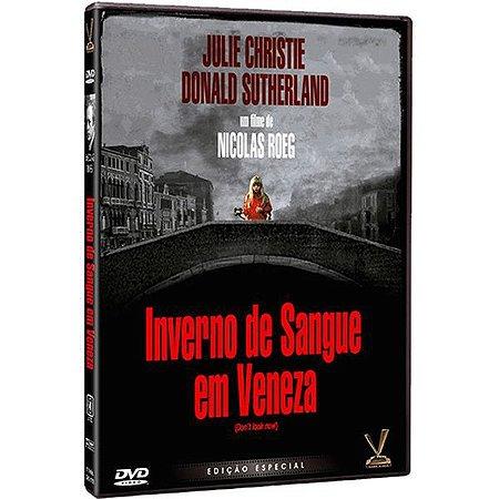 DVD Inverno de Sangue em Veneza - Nicolas Roeg - Versátil