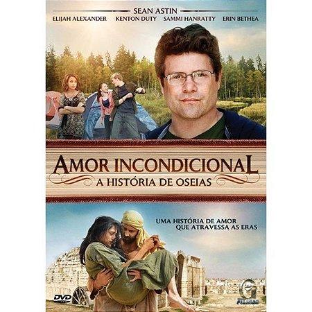 DVD AMOR INCONDICIONAL A HISTÓRIA DE OSEIAS