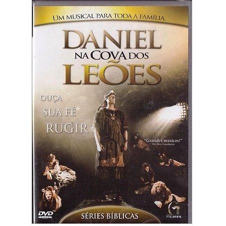 DVD DANIEL NA COVA DOS LEOES