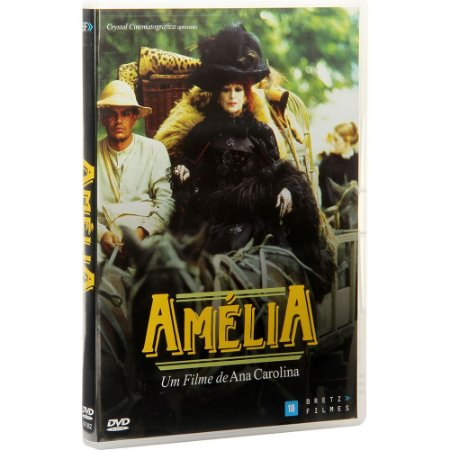 Dvd Amélia - Ana Carolina - Bretz Filmes