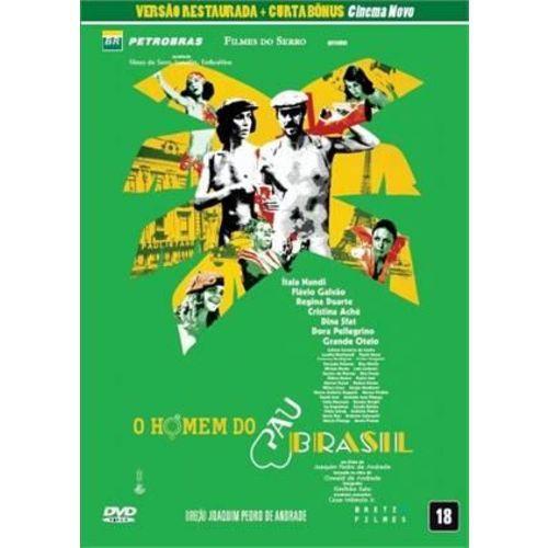 DVD O Homem do Pau Brasil + Bonus Cinema Novo - Bretz Filmes