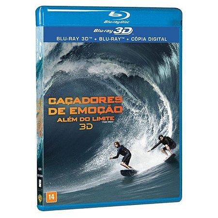 Blu-ray 3D + Blu-ray Caçadores de Emoção: Além do Limite