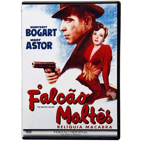 DVD - O Falcão Maltês - Relíquia Macabra