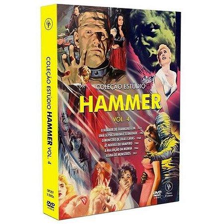 DVD Coleção Estúdio Hammer Vol.4 (3 DVDs)