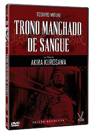 DVD Trono Manchado De Sangue - Akira Kurosawa