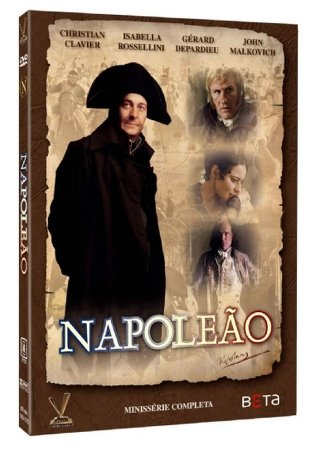 DVD Napoleão - Minissérie Completa