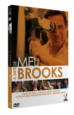 DVD A Arte de Mel Brooks - Ed. Limitada ( 2 DVDs)