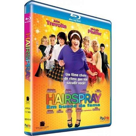 Blu-Ray Hairspray - Em Busca Da Fama - JOHN TRAVOLTA