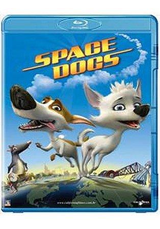 Blu Ray 2D e 3D   Space Dogs  Desenho