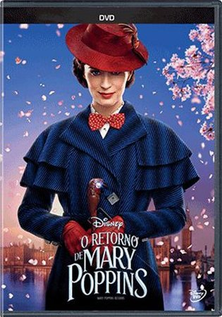 Dvd O Retorno De Mary Poppins