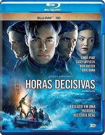Blu ray 3D - Horas Decisivas - Chris Pine