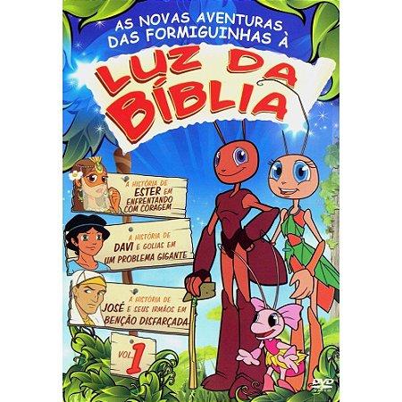 Dvd - Luz Da Bíblia - Volume 1