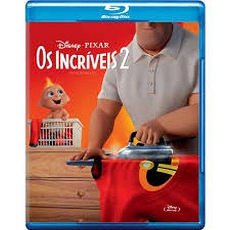 Blu-Ray - Os Incríveis 2 - Walt Disney