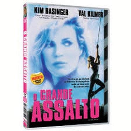 Dvd  O Grande Assalto  Kim Basinger