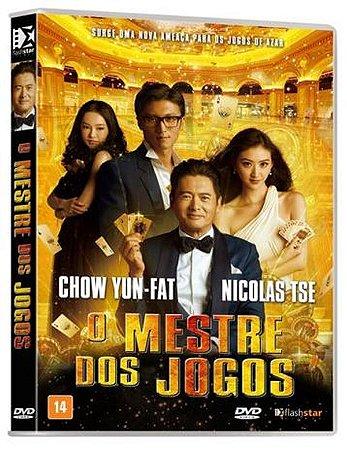 Dvd  O Mestre dos Jogos  Nicolas Tse