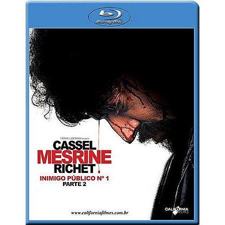 Blu ray  Inimigo Público nº 1  Parte 2  Vincent Cassel