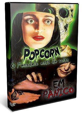 DVD POPCORN / EM PANICO