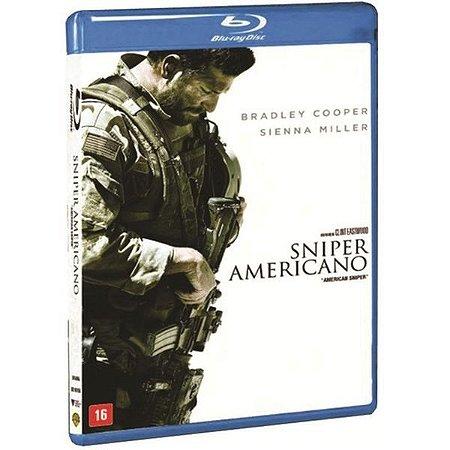Blu-Ray Sniper Americano - Bradley Cooper