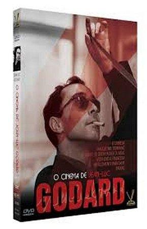 DVD O Cinema de Jean-Luc Godard (3 DVDs)