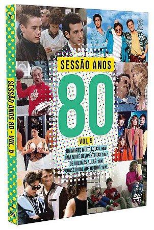 DVD Sessão Anos 80 - Volume 5
