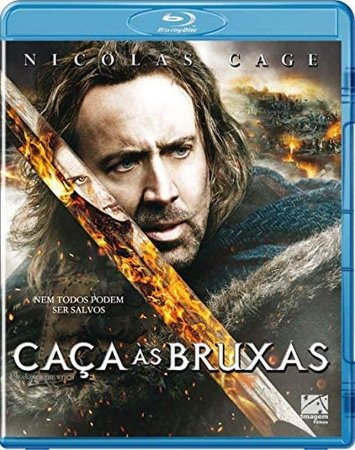 Blu-ray Caça às Bruxas - Nicholas Cage