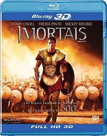 Blu-Ray 3D/2D - Imortais - Immortals