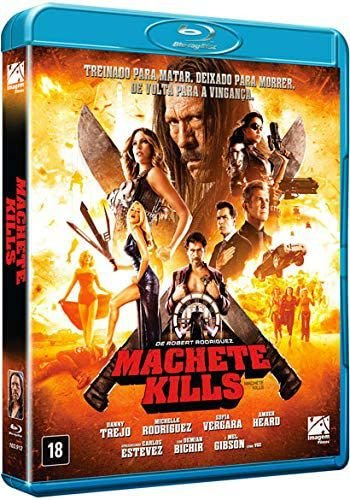 Blu-Ray Machete Kills - Danny Trejo
