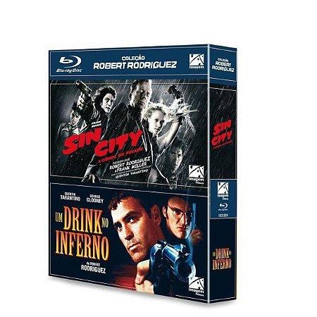 Blu-Ray Sin City: A Cidade Do Pecado + Um Drink No Inferno
