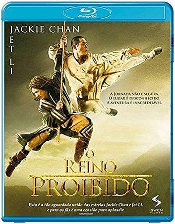 Blu-Ray - O Reino Proibido - Jackie Chan