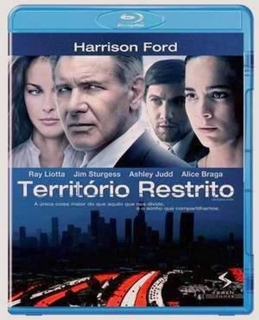 Blu-Ray Território Restrito - HARRISON FORD