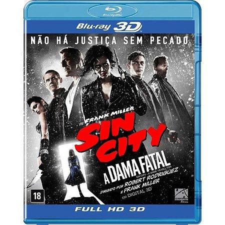 Blu-ray 3D/2D - Sin City 2: a Dama Fatal