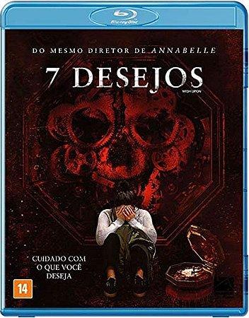 Blu-Ray 7 Desejos - terror