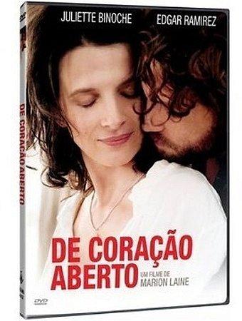 DVD - DE CORAÇÃO ABERTO - IMOVISION