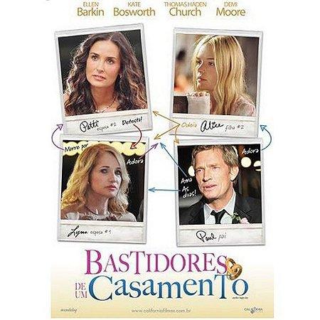 DVD Bastidores de um Casamento -  Demi Moore