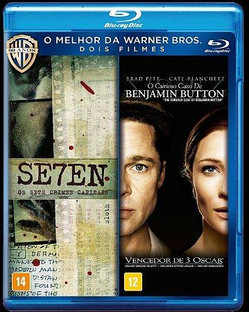 Blu-Ray - Seven + O Curioso Caso de Benjamin Button