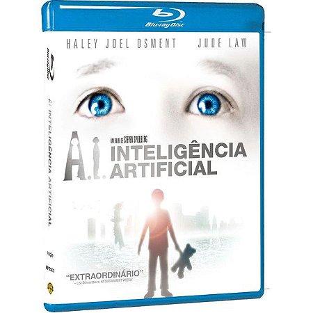 BLU-RAY A.I. INTELIGENCIA ARTIFICIAL - Steven Spielberg (EXCLUSIVO)