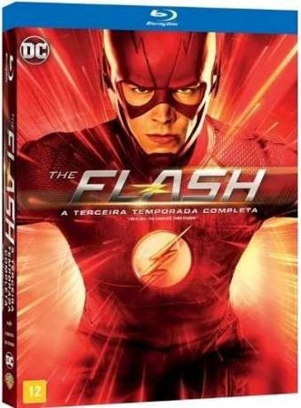 Blu-Ray The Flash - 3ª Temporada - 4 Discos