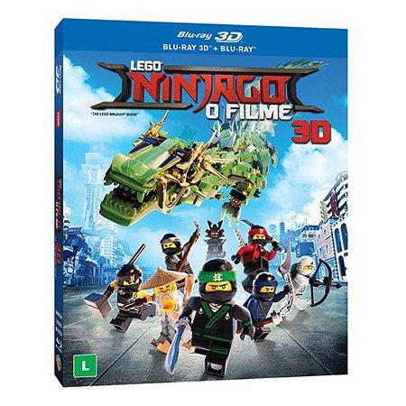 Blu-Ray + Blu-ray 3D LEGO Ninjago O Filme