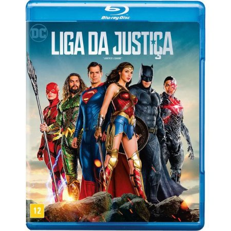 Blu Ray Liga Da Justica (FILME)