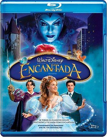 Blu-ray - Encantada - DISNEY