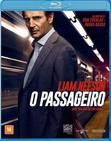 Blu-Ray O Passageiro - Liam Neeson