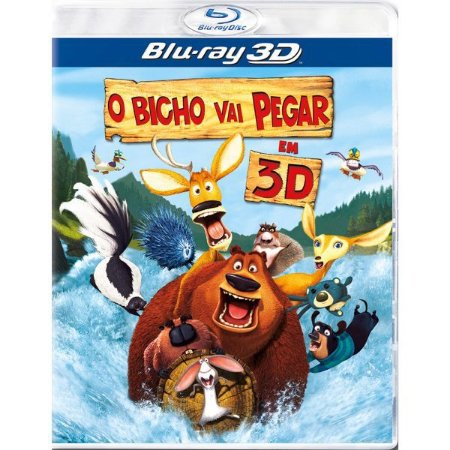 Blu-Ray 3D/2D - O Bicho Vai Pegar