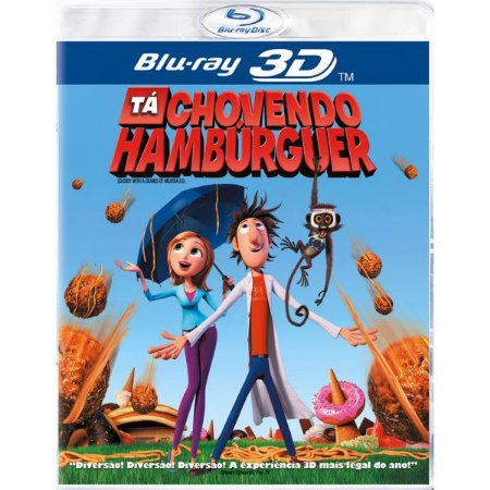 Blu-Ray 3D/2D - Tá Chovendo Hambúrguer