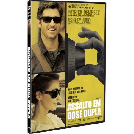 Dvd Assalto em Dose Dupla - Patrick Dempsey