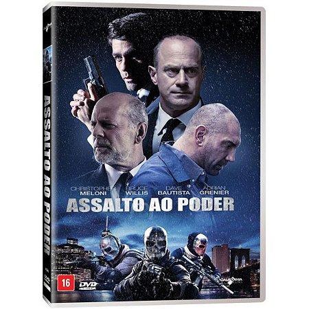DVD Assalto ao Poder - Bruce Willis