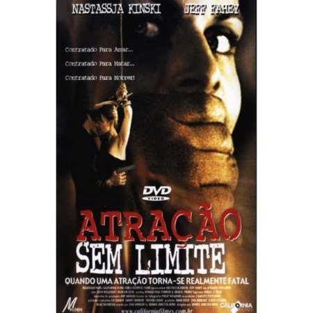 DVD Atração Sem Limite - Nastassja Kinski